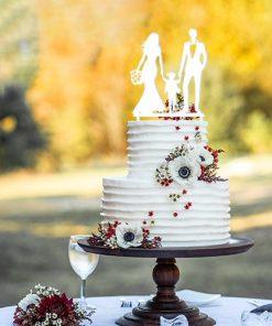 Cake Topper Familie