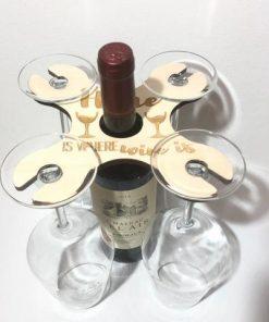 Wein-Butler für 4 Gläser