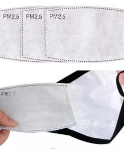 Filter-Pads für waschbare DIY Schutzmasken