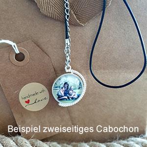 Cabochon zweiseitig
