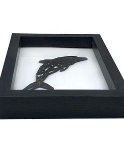 Delfin 3D im Rahmen
