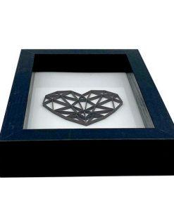 3D Herz im Rahmen