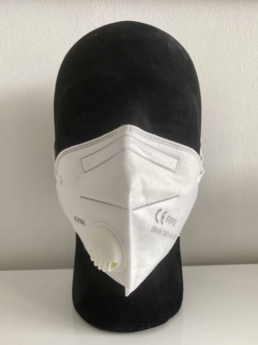 Atemschutzmaske FFP 2-Masken mit Ventil CE-Zertifiziert ...
