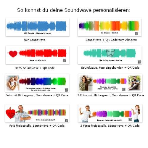 Soundwave zum Personalisieren