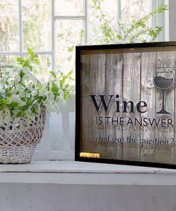 Weinkorken-Keeper Rahmen