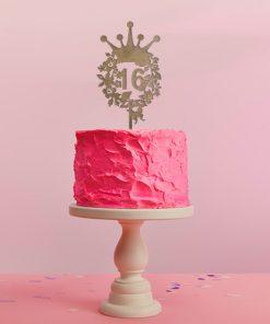 Kuchenstecker mit Zahl