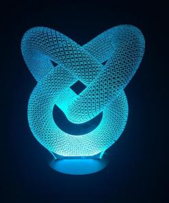 LED-Acryl inkl. LED Leuchte