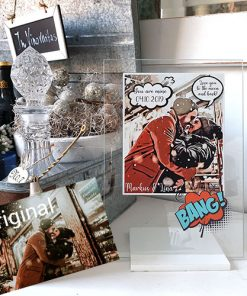 Comic Glassart