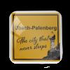 "Kühlschrankmagnet ""Übach-Palenberg - The city that never sleeps"""