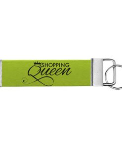 """Schlüsselanhänger Biothane® """"Shopping Queen"""""""