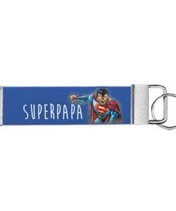 """Schlüsselanhänger Biothane® """"Super Papa"""""""