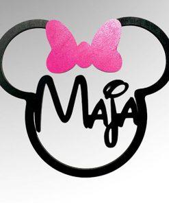 3d Micky oder Minnie Maus mit Namen